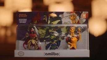 El amiibo de Shovel Knight Gold Edition llegará en junio junto al Shovel Knight: Treasure Trove Triple Pack