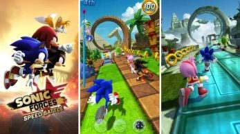 Sonic Forces Speed Battle llega por sorpresa a iOS