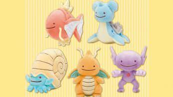 Ditto y Vulpix protagonizan la última línea de merchandising de Pokémon