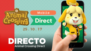 [Act.] ¡Sigue aquí en directo el Animal Crossing Mobile Direct!