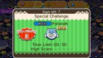 Novedades de la semana en Pokémon Shuffle: Poliwrath, Mega Camerupt y más