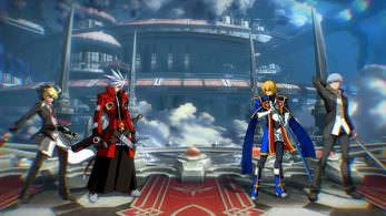 Escasez de jugadores en las salas online europeas de BlazBlue: Cross Tag Battle