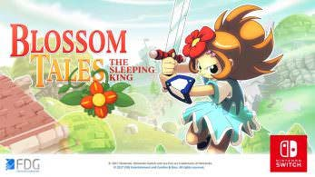 [Act.] Blossom Tales: The Sleeping King llegará a Nintendo Switch el 21 de diciembre