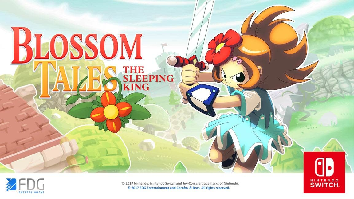 Tráiler debut de Blossom Tales: The Sleeping King para Switch