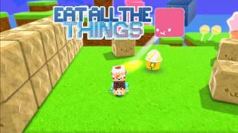 Eat All The Things se financia en Kickstarter y pronto será lanzado para Switch
