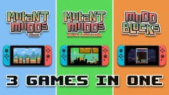 Mutant Mudds Collection ha vendido más unidades en Switch en los últimos 10 días que desde su lanzamiento