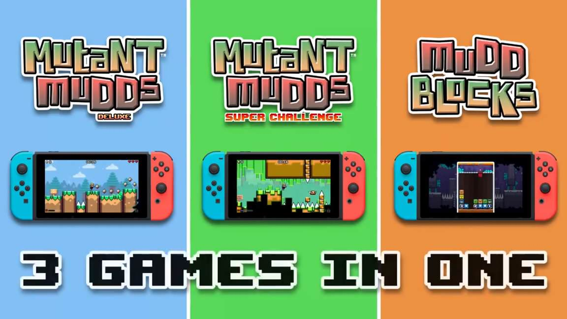 Mutant Mudds Collection está rebajado un 50% en la eShop americana de Switch