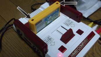Nintendo comparte que los agujeros de los cartuchos de Famicom tan solo son un elemento más del diseño