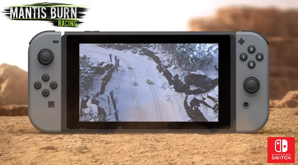 VooFoo Studios ‏sortea una copia digital de Mantis Burn Racing para Nintendo Switch