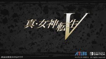 El nuevo Shin Megami Tensei para Switch es Shin Megami Tensei V