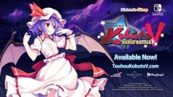 Touhou Kobuto V: Burst Battle llega a Japón el 2 de noviembre, nuevo tráiler