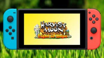 "[Act.] Harvest Moon: Light of Hope llegará en mayo a Nintendo Switch como ""Harvest Moon: Light of Hope Special Edition"""