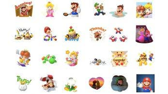 Ya disponible en LINE este curioso set de stickers de Super Mario