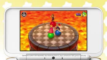 El clásico minijuego Pelotas de Choque se deja ver en Mario Party: The Top 100