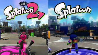 Comparativa en vídeo de Parque Lubina: Splatoon 2 vs. Splatoon