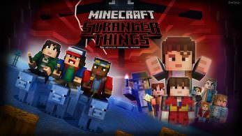 Tráiler y gameplay del pack de aspectos de Stranger Things para Minecraft