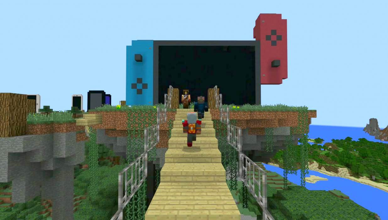 La versión de Minecraft: Better Together para Nintendo Switch ha sido enviada a certificación