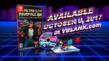 Retro City Rampage DX contará con una edición coleccionista en formato físico para Switch