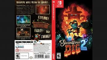 Un fan crea un box art para SteamWorld Dig 2