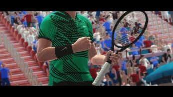 Así luce el tráiler teaser de Tennis World Tour