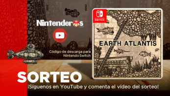 ¡Sorteamos un código de descarga de Earth Atlantis para Nintendo Switch!