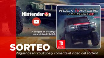 ¡Sorteamos 4 códigos de Rock 'N Racing Off Road DX para Nintendo Switch!
