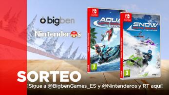 [Act.] ¡Sorteamos una copia de Snow Moto Racing Freedomyde Aqua Moto Racing Utopia para Switch!