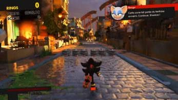 Gameplay del DLC de Shadow de Sonic Forces