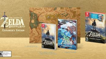 [Act.] Nintendo of America anuncia un pack de 2DS de Zelda y la Explorer's Edition de Breath of the Wild