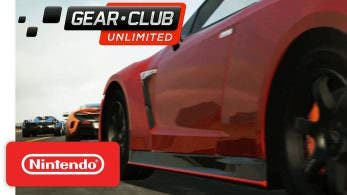 [Act.] Tráiler de lanzamiento de Gear.Club Unlimited