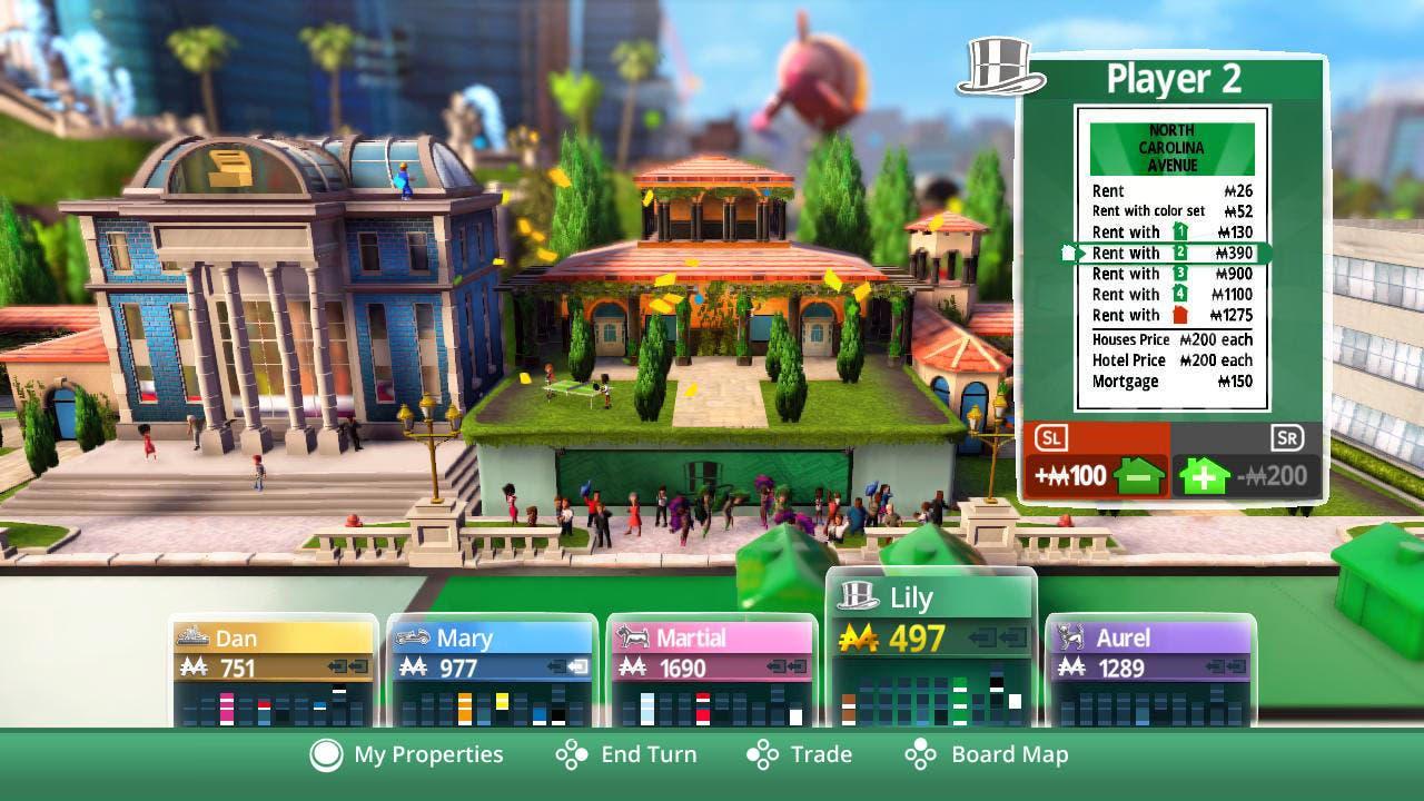 Analisis Monopoly Para Nintendo Switch Nintenderos Com Nintendo
