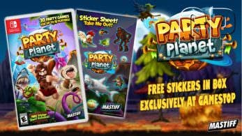 Tráiler debut de Party Planet para Nintendo Switch