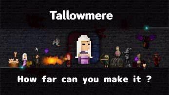 [Act.] Tallowmere llegará a la eShop de Switch la próxima semana