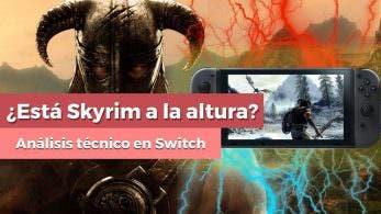 [Vídeo] ¿Ha cumplido Skyrim en Nintendo Switch? Un vistazo al apartado gráfico