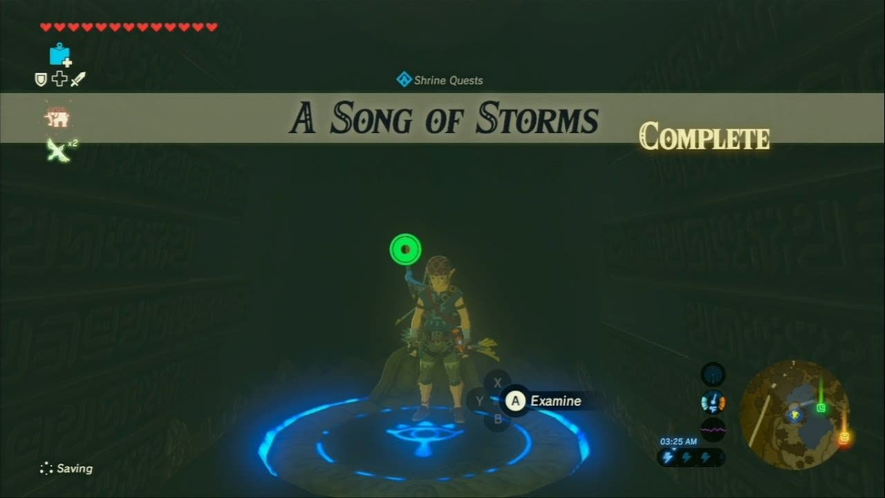 Así sonaría la Canción de la tormenta en The Legend of Zelda: Breath of the Wild