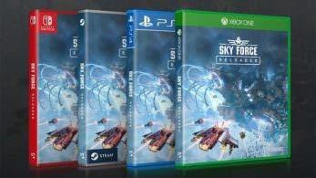 Sky Force Reloaded confirma oficialmente su lanzamiento en Nintendo Switch