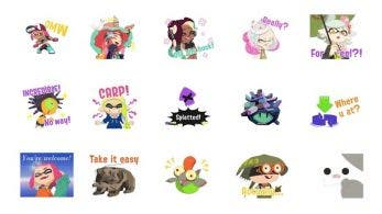 Estos stickers de Splatoon 2 ya están disponibles en LINE