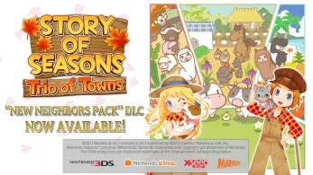 [Act.] Tráiler del DLC «New Neighbors Pack» de Story of Seasons: Trio of Towns