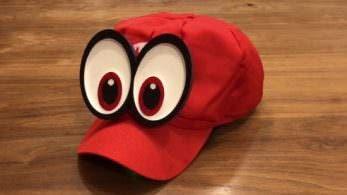 Los ojos de Cappy se mueven en esta gorra de Mario impresa en 3D