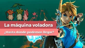 [Vídeo] Nos subimos a la máquina voladora de Zelda: Breath Of The Wild