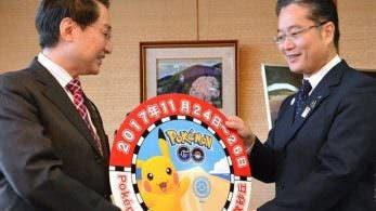 JR West otorga un distintivo de Pokémon GO para la parte frontal del tren a la prefectura de Tottori