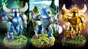 First 4 Figures anuncia una nueva estatua de Shovel Knight