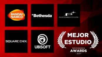 Nintenderos Awards 2017: Mejor estudio de los que han desarrollado para consolas de Nintendo