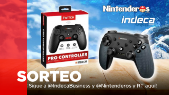 [Act.] ¡Sorteamos este Pro Controller para Nintendo Switch junto a Indeca Business!