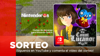¡Sorteamos un código de descarga de The Count Lucanor para Nintendo Switch!