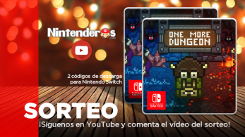 ¡Sorteamos dos códigos de descarga de One More Dungeon para Nintendo Switch!