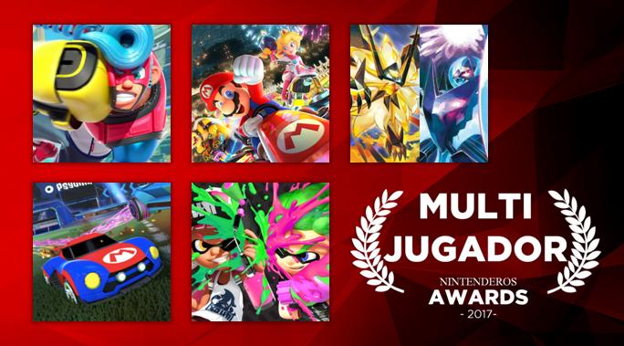 Nintenderos Awards 2017 Mejor Juego Multijugador Para Consolas De