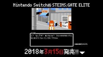 Este nuevo tráiler de Steins;Gate Elite nos muestra cómo se vería el juego si fuese un título de Famicom