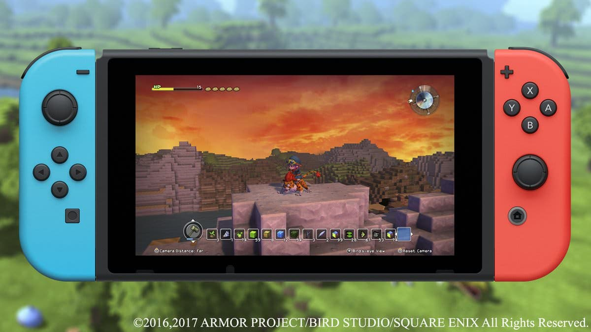 Digital Foundry somete a test la versión de Dragon Quest Builders para Nintendo Switch