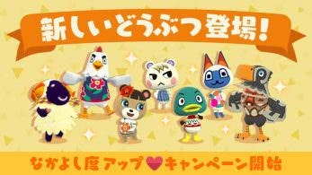 Animal Crossing: Pocket Camp recibe 7 nuevos animales y un nuevo evento